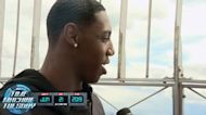 2019 Flashback: RJ Barrett on being drafted by Knicks in Empire State Building rooftop interview | Time Machine Tuesday