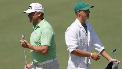 Lee Westwood ready to enjoy 20th Masters with son on his bag
