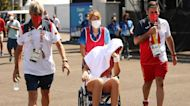 Tokyo heat continues to affect athletes