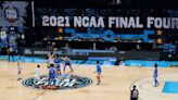 At the end of an unpredictable NCAA basketball season, a predictable title tilt