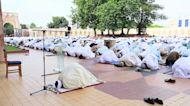 Eid-Mubarak celebration amidst COVID-19 restrictions in Nigeria's capital