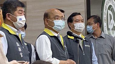 新北、宜蘭防疫升級?蘇貞昌視察指揮中心:台灣有新的狀況