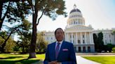 A right-wing talk show host is leading the California recall election polls. Who is he?