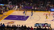 Avery Bradley with an assist vs the Los Angeles Lakers