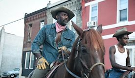 Idris Elba braved a horse allergy to make 'Concrete Cowboy,' his new father/son 'love story'