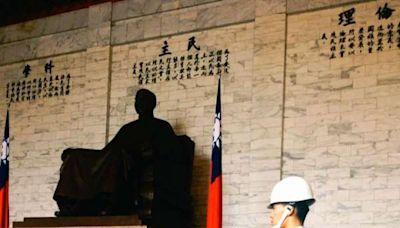 黨內民調顯示過半民眾反對拆中正紀念堂銅像?民進黨:不予置評