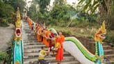 寮泰邊境城市會曬 時間只是參考的樸真小城
