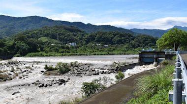 烟花颱風帶來豐沛雨量 永和山水庫進水反減緩 - 工商時報