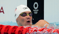 Underdog American Bobby Finke charges on final lap to win gold in 800 freestyle at Tokyo Olympics