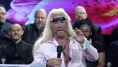 Dog the Bounty Hunter Tearfully Mourns Late Wife Beth at Memorial: 'I Cannot Believe She's Gone'