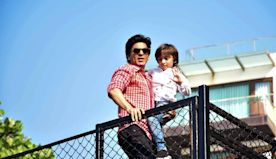 Proud father Shah Rukh Khan flaunts son AbRam's medals