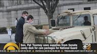 Senator Pat Toomey Uses Supplies From Senate Candy Desk For National Guard Care Packages