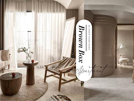 奶油色調與曲線元素共舞,這間越南公寓有著人人嚮往的居家質感 - The Femin