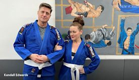 Old Married (Not to Each Other) Costars Try Jujitsu