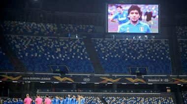 European leagues seek ways to remember Maradona
