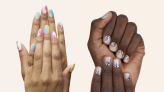 These $15 custom-fit nail stickers look and feel like a gel manicure, so you can skip the salon