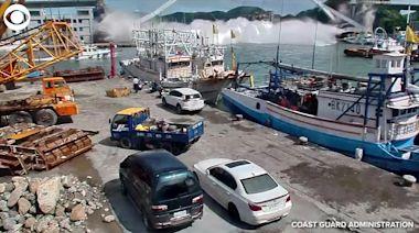 WEB EXTRA: Taiwan Bridge Collapse