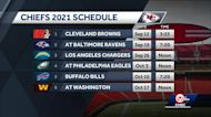 Kansas City Chiefs' 2021 schedule released