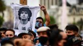 Thousands line up to bid farewell Maradona in Argentina