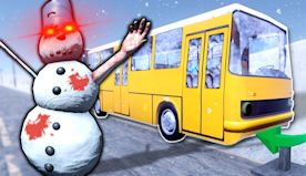 ZOMBIE SNOWMAN SURVIVAL? - The Long Drive Gameplay