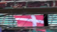 Finnish Fans Chant Support for Denmark's Christian Eriksen at Euro 2020 Match