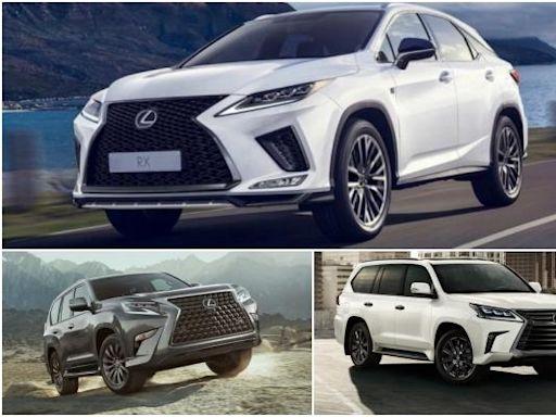 新一代 RX 帶頭!Lexus 旗下 3 款 SUV 都將大改款 - 自由電子報汽車頻道