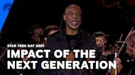 LeVar Burton Toasts The Next Generation's Vision Of Humanity | Star Trek Day 2021 | Paramount+