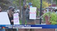 Demonstrators Gather In Idaho Springs To Protest Excessive Force By Police