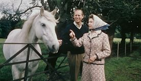 Queen Elizabeth Alexandra Mary Windsor, 93, Is Photographed Riding A Horse Like The Boss She Is