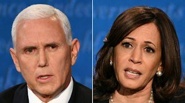 Mike Pence, Kamala Harris spoke by telephone Thursday: source