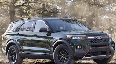 可重度越野的7人座新休旅,Ford Explorer Timberline 登場亮相! - 自由電子報汽車頻道