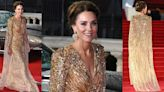 Kate Middleton Goes Super Glam at James Bond 'No Time to Die' Premiere
