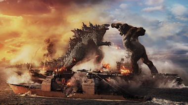 'Kong bows to no one': Two beloved behemoths face off in first 'Godzilla vs. Kong' trailer