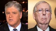 Sean Hannity blasts Mitch McConnell and calls for new GOP leadership
