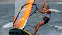 Emma Wilson bags windsurfing bronze medal for Great Britain