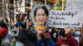 Myanmar's ousted leader Aung San Suu Kyi appears in court after deadliest day since coup
