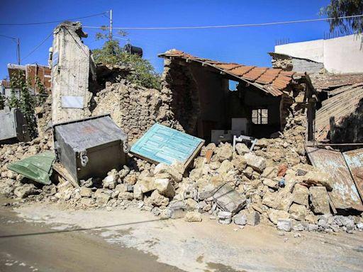 震不停!希臘6.5強震後餘震不斷 克里特島4800人無家可歸