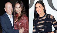 Bruce Willis, Wife Emma & Ex Demi Moore Bond While Celebrating His Daughter's Bday In Quarantine