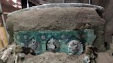 "Archaeologists Uncover the ""Lamborghini of Chariots"" Outside Pompeii"