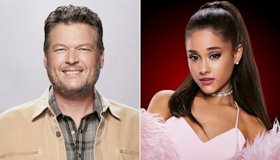 Blake Shelton Is 'Excited' for Ariana Grande to Join The Voice Because It's 'Somebody New for Me to Beat'