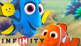 FINDING DORY NEMO Cartoon Games Videos for Kids Children - Disney Infinity 3.0