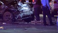 One killed, another injured after car drives into protesters in Minneapolis