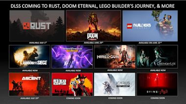 NVIDIA 遊戲夥伴夏日迎接 RTX 光追與 DLSS 加持,以樂高 拼砌旅程、毀滅戰士 永恆為首的新遊戲將獲得絕佳光影效果 - Cool3c