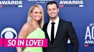 Brendan McLoughlin Supports Wife Miranda Lambert at ACM Awards 2021