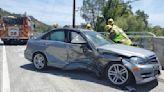 Two-vehicle crash reported on Silverado Trail in Napa County
