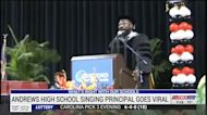 North Carolina principal goes viral for graduation performance of 'I Will Always Love You'