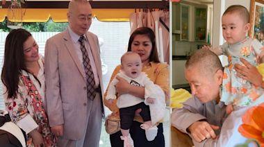 82歲劉詩昆半歲囡囡陪過父親節甜到漏 有心有力繼續生 | 蘋果日報