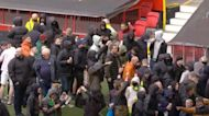 Man Utd game axed after anti-Glazer protests