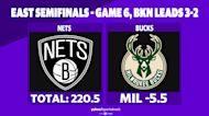Betting: Nets vs. Bucks | June 17