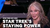LeVar Burton And Gates McFadden Explain Star Trek's Staying Power   Star Trek Day 2021   Paramount+